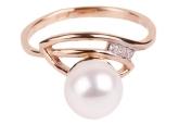 Кольцо с жемчугом 190-1-224