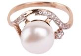 Кольцо с жемчугом 190-1-231Р