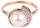 Кольцо с жемчугом 190-1-235Р