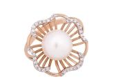 Кольцо с жемчугом 190-1-250Р