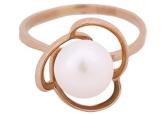 Кольцо с жемчугом 190-1-269