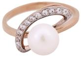 Кольцо с жемчугом 190-1-278Р