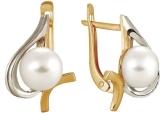 Серьги с жемчугом 290-1-270P