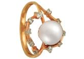 Кольцо с жемчугом KL190-1-01309P