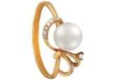 Кольцо с жемчугом KL190-1-01328P