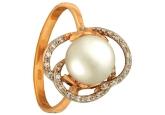 Кольцо с жемчугом KL190-1-01330P