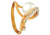 Кольцо с жемчугом KL190-1-01331P