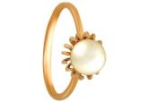Кольцо с жемчугом KL190-1-01335