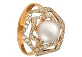 Кольцо с жемчугом KL190-1-01336